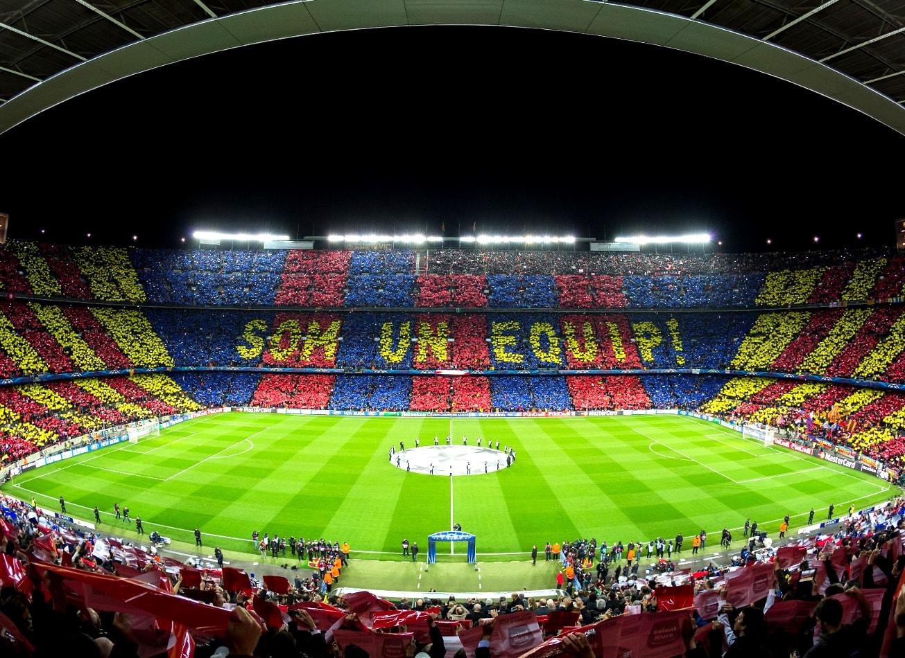 visite du camp nou stade fc barcelone activites vimigo