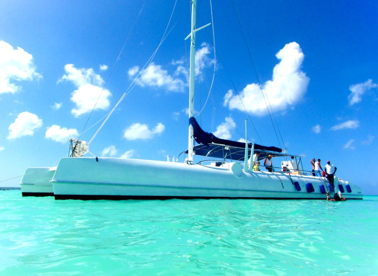 catamaran party bateau mer fete montpellier activites