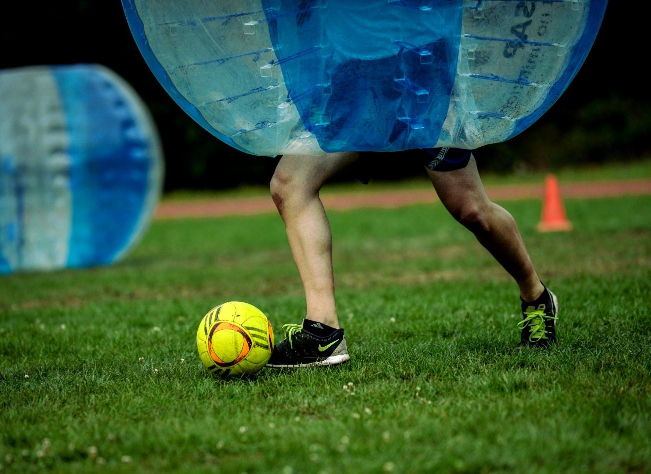 foot bulle à Barcelone bubble football zorb barcelone activites vimigo