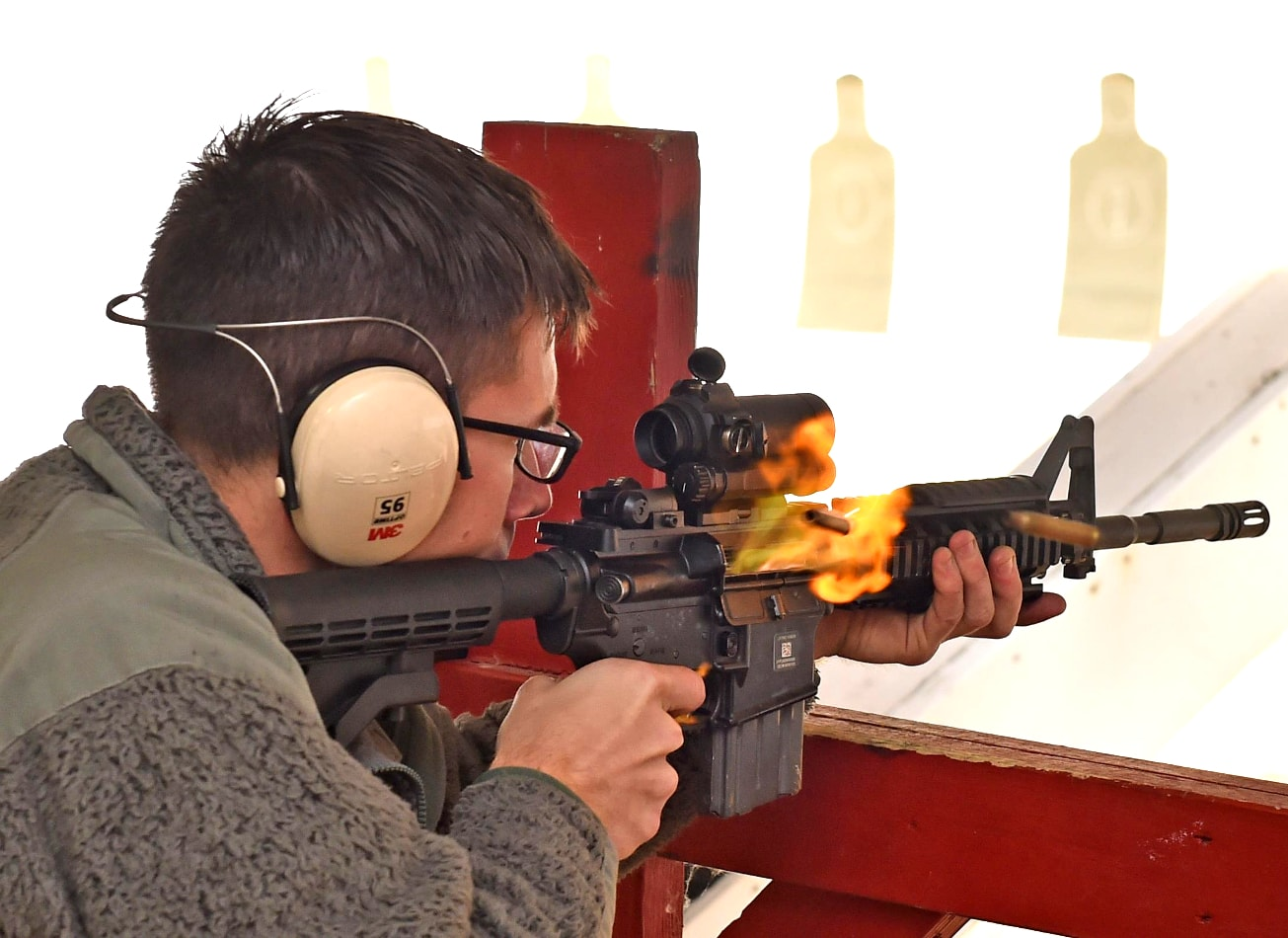 shooting 3 armes glock uzi m4 varsovie activites vimigo