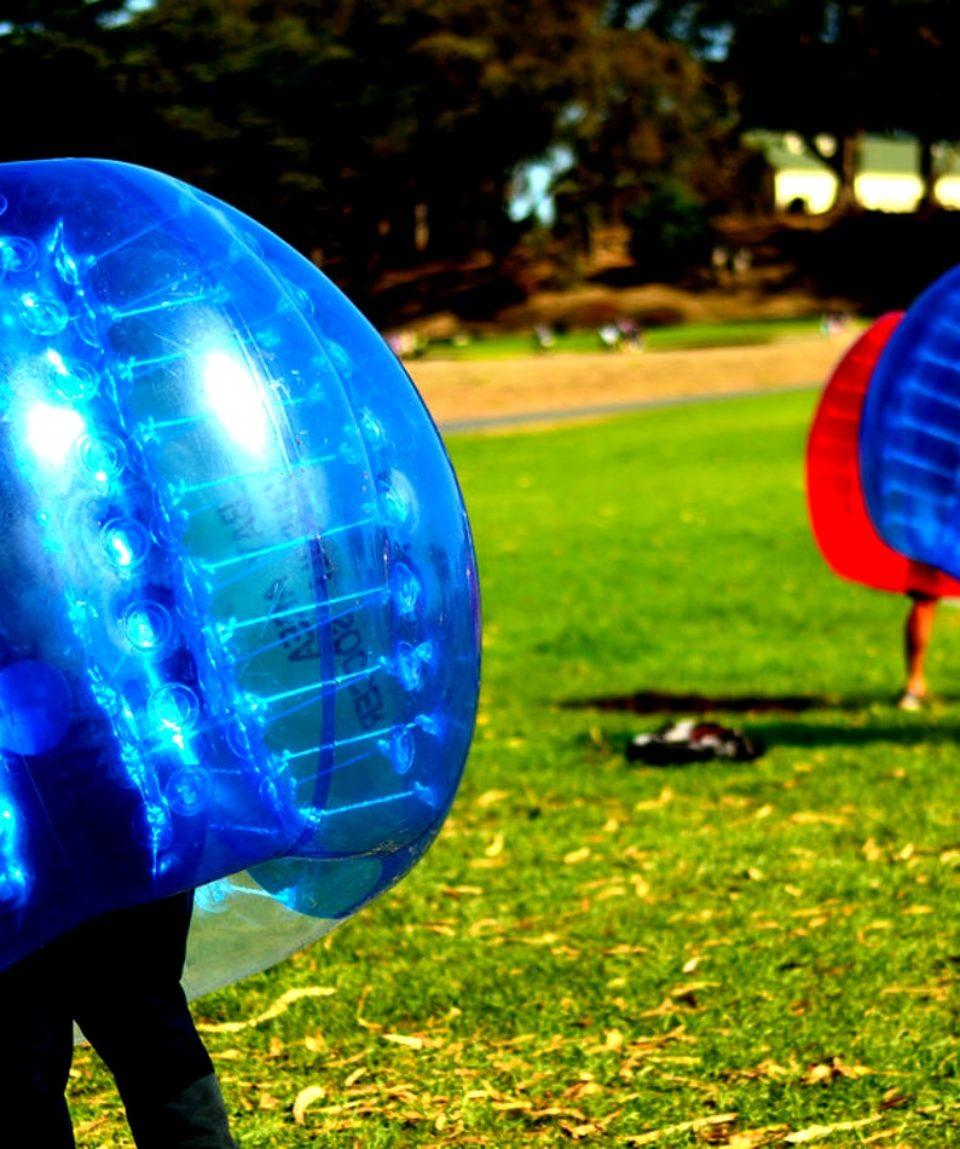foot bulle bubble football zorb zorbing nice activites vimigo