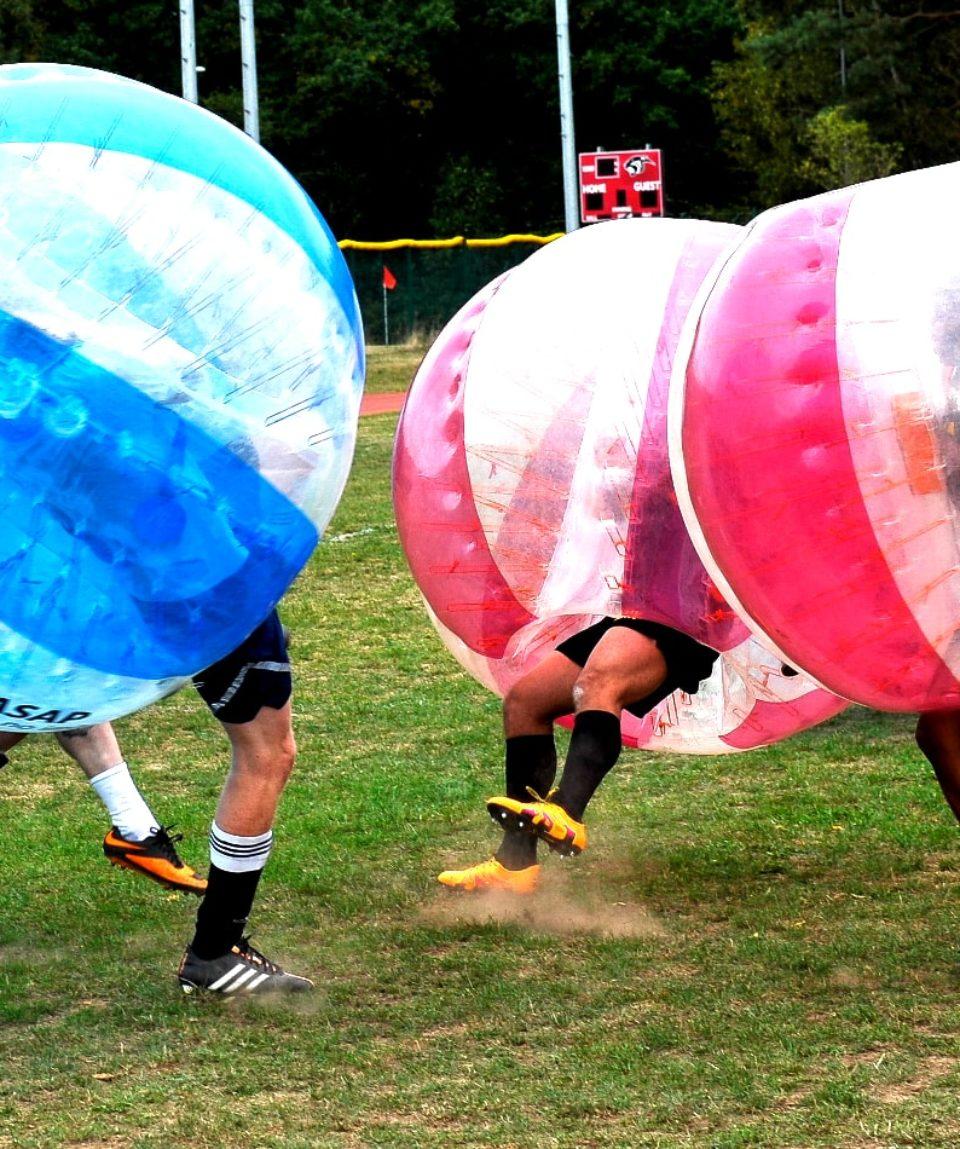 foot bulle bubble football zorb zorbing toulouse activites vimigo