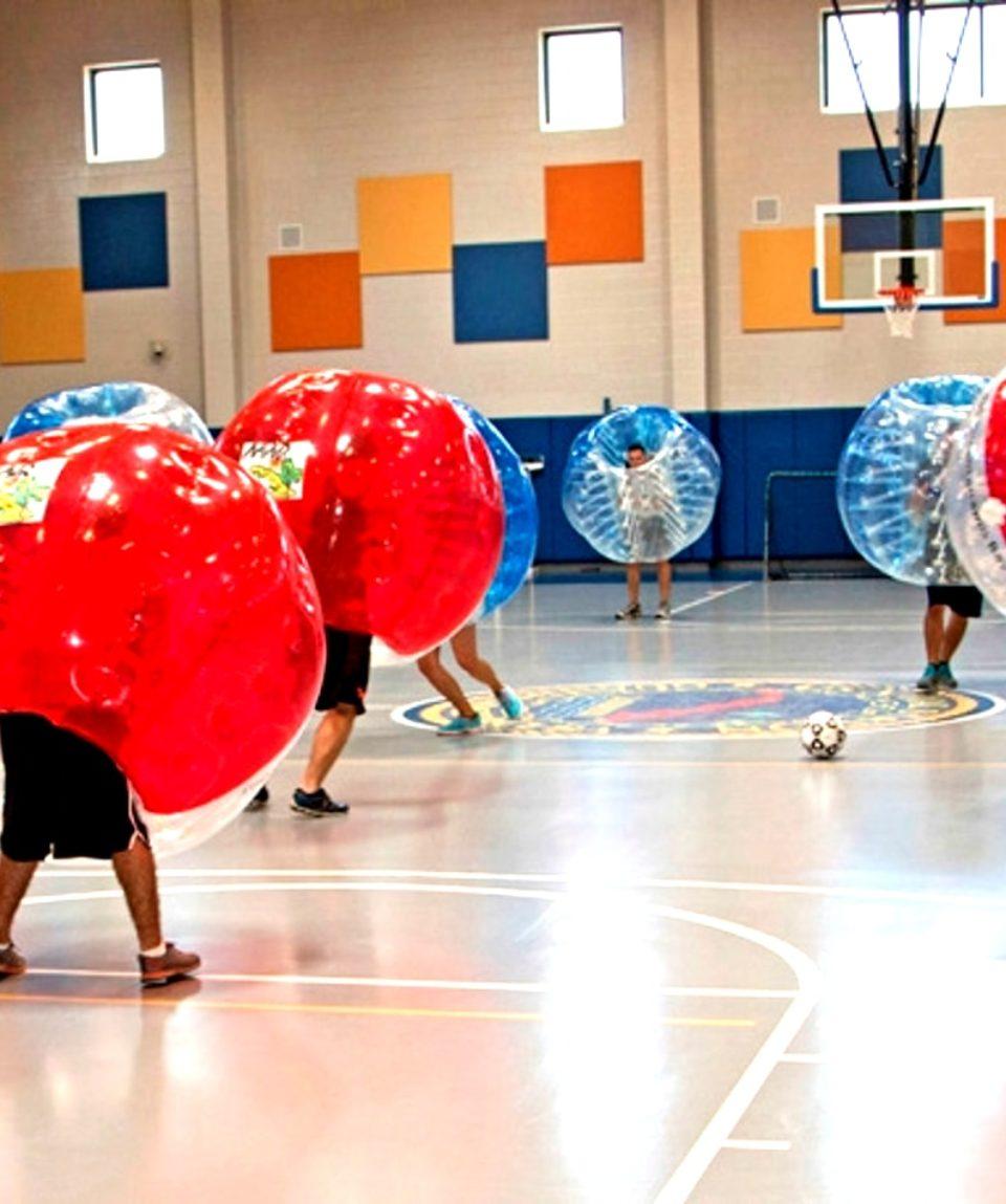 foot bulle bubble football zorb zorbing varsovie activites vimigo