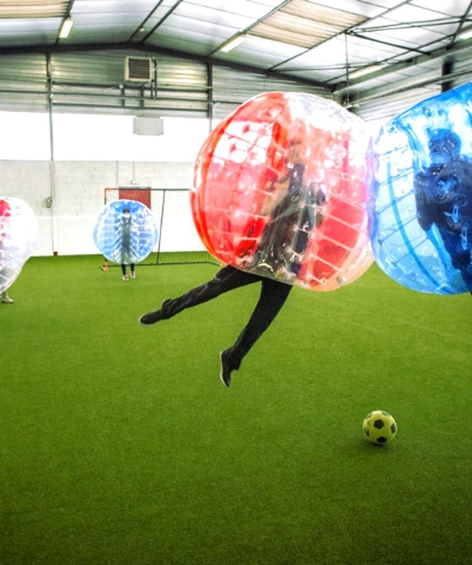 foot bulle bubble football lyon activites vimigo