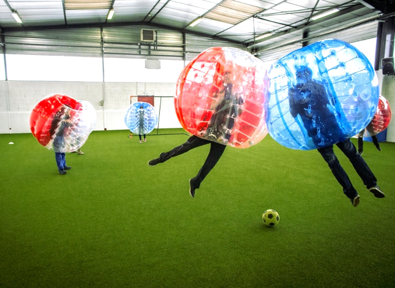 foot bulle bubble football lyon activites vimigo
