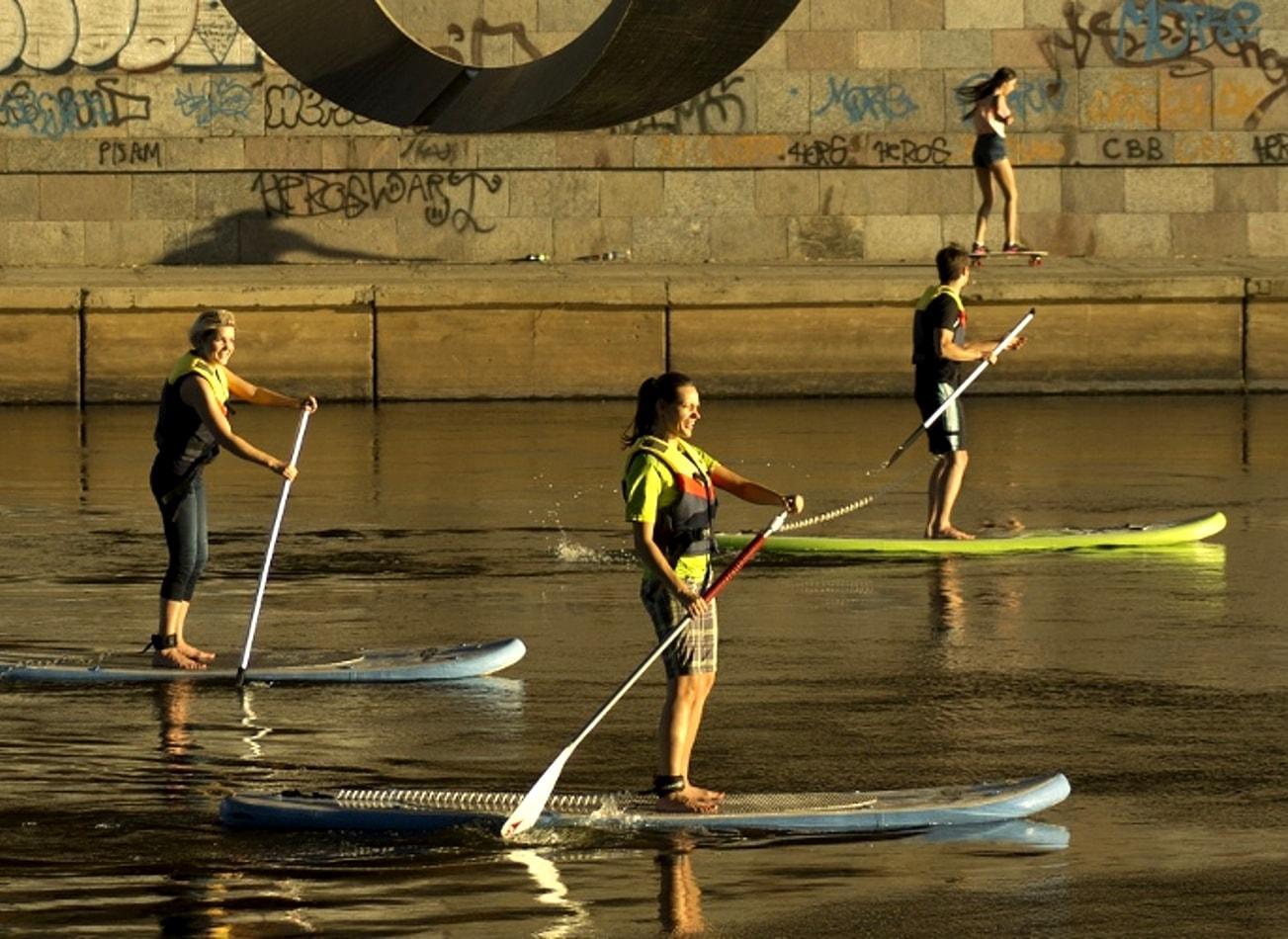 paddle fleuve vilnius activites vimigo