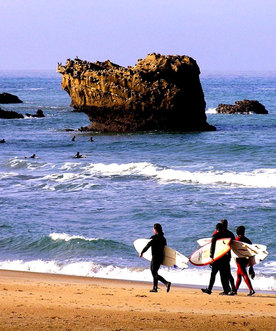 cours de surf biarritz activites vimigo