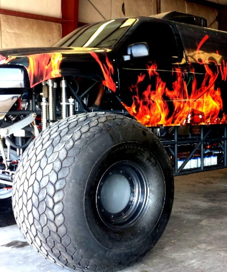 shooting & monster truck las vegas