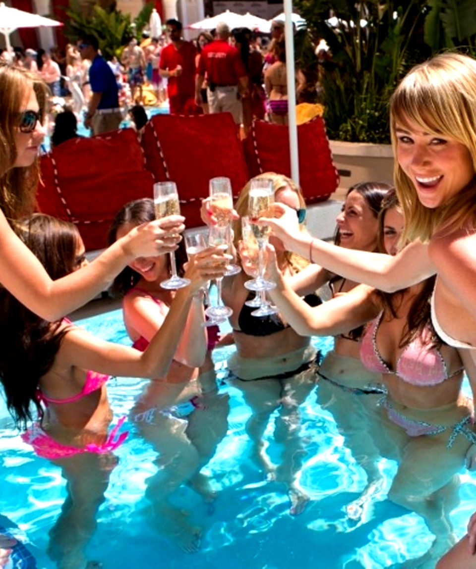 pool party piscine las vegas activites vimigo