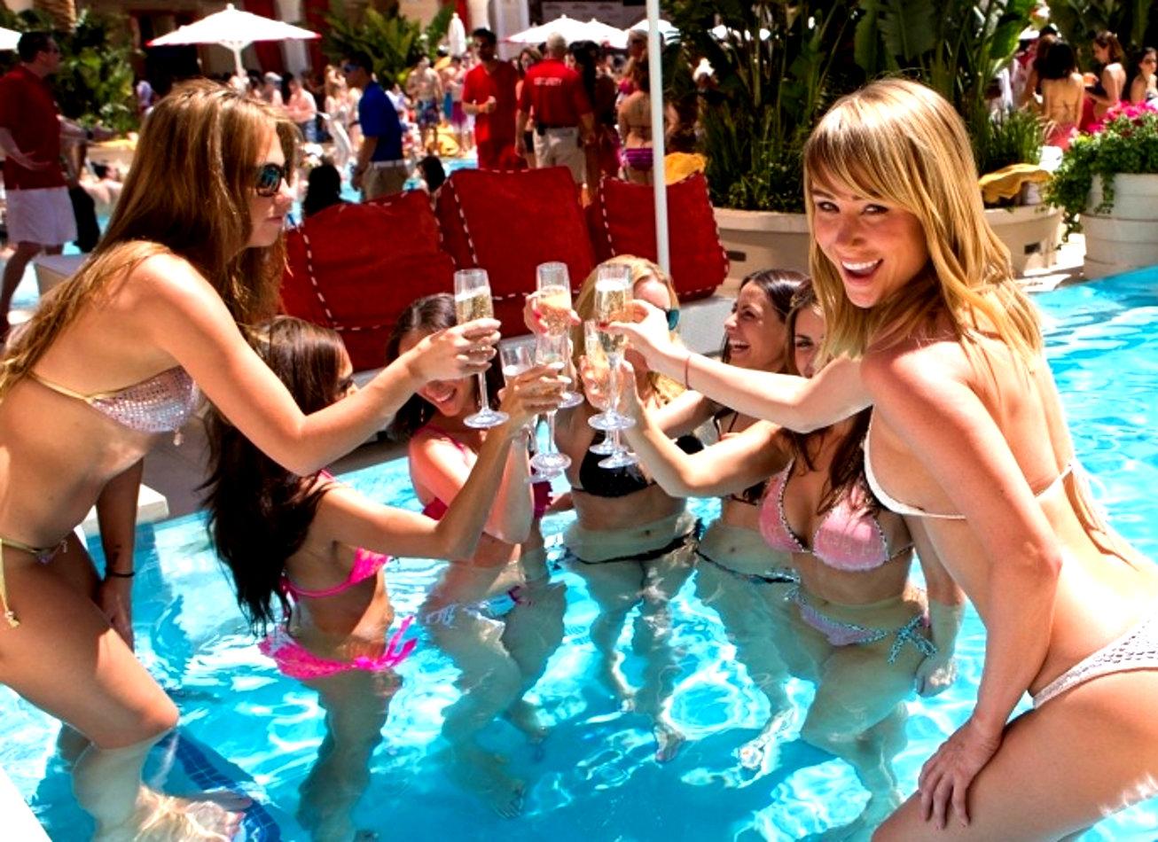 pool party piscine las vegas activites vimigo