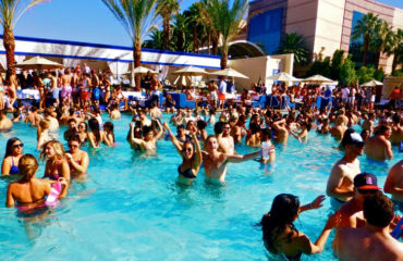 Pool Party à Las Vegas