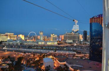 Tyrolienne à Las Vegas